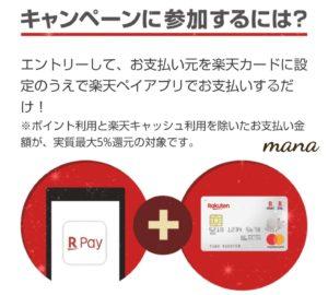 楽天Pay キャンペーン