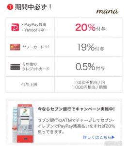 セブンイレブン 史上初3社合同キャンペーン PayPay